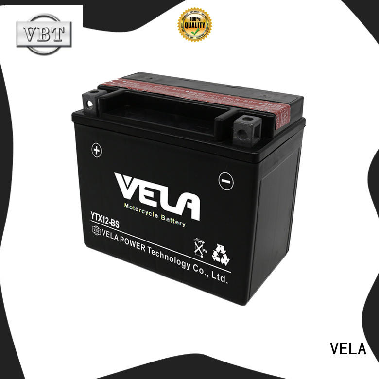 VELA convenient dry cell battery great for motorbikes
