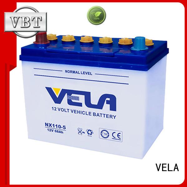VELA car dry battery perfect for car