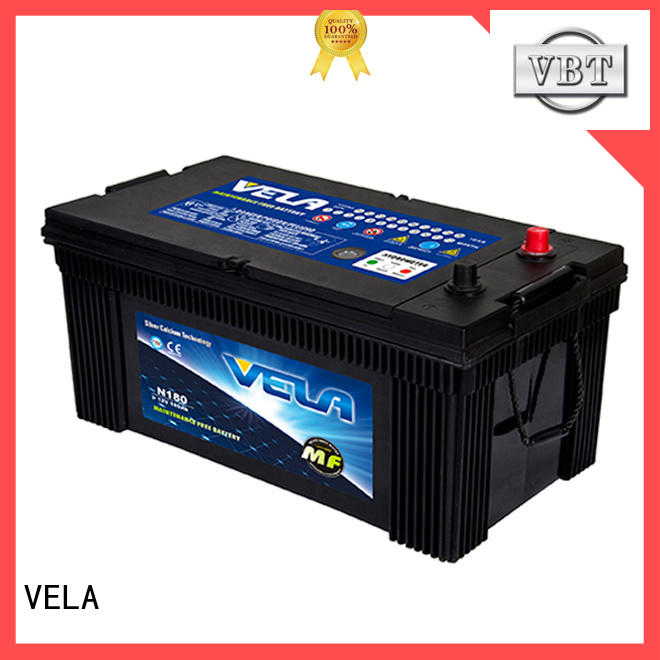 VELA reliable heavy duty battery popular for auto