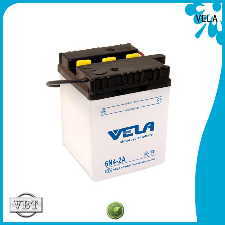 VELA safer transportation lead acid battery excellent for motorbikes