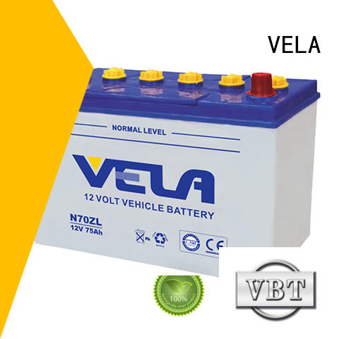 VELA car battery suppliers optimal for automobile