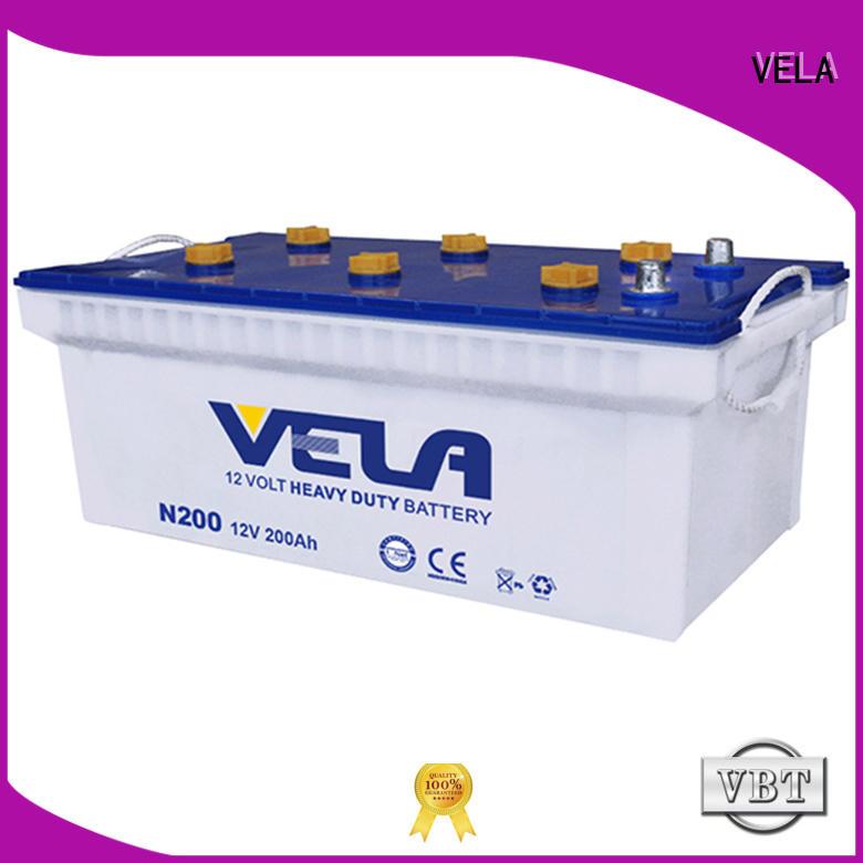 VELA commercial truck batteries excellent for auto