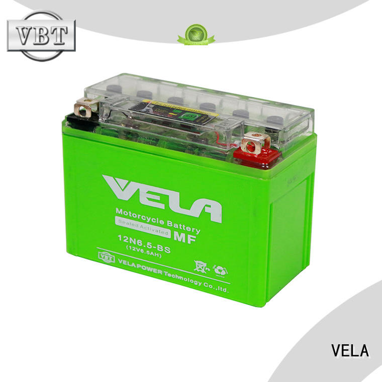 VELA environment friendly gel battery perfect for autocycle