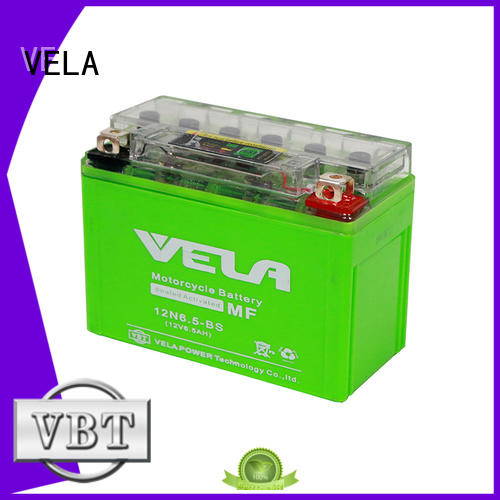 VELA motorcycle race battery ideal for motorbikes