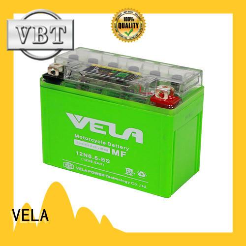 VELA motorcycle battery guide motorcycle industry