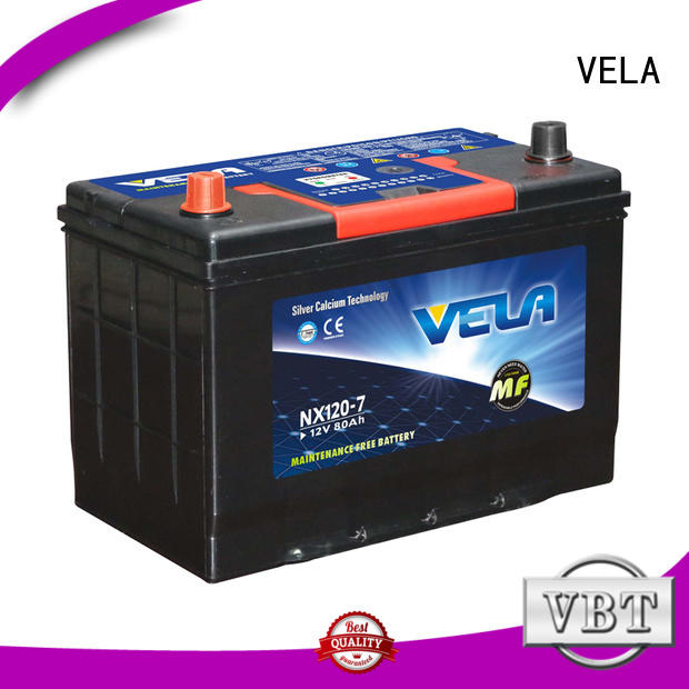 VELA cheap auto batteries widely employed for vehicle