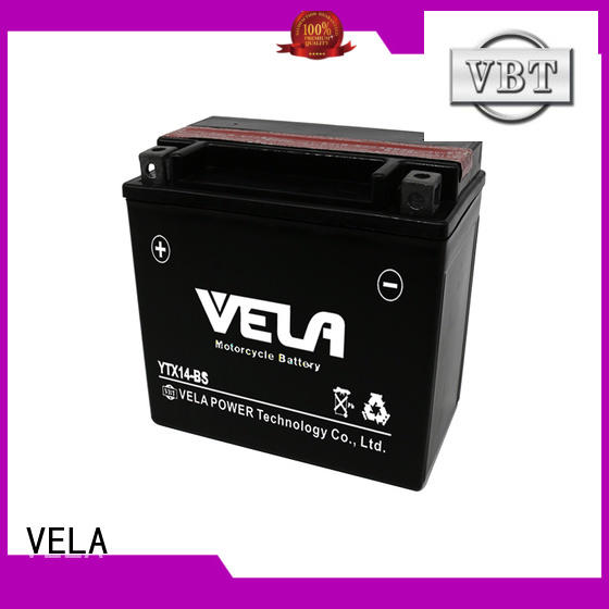 VELA dry charged battery perfect for motorbikes