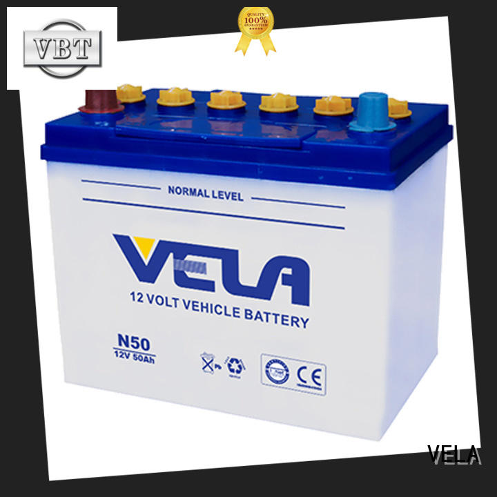VELA best auto battery great for vehicle industry