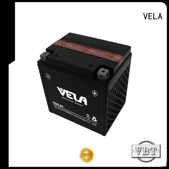 VELA convenient dry cell battery perfect for motorcyles