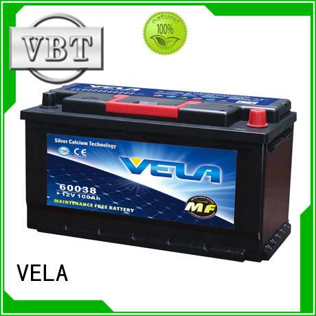 VELA best car battery brand needed for car