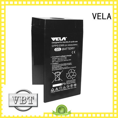 VELA good quality maintenance free battery great for telecommunications system