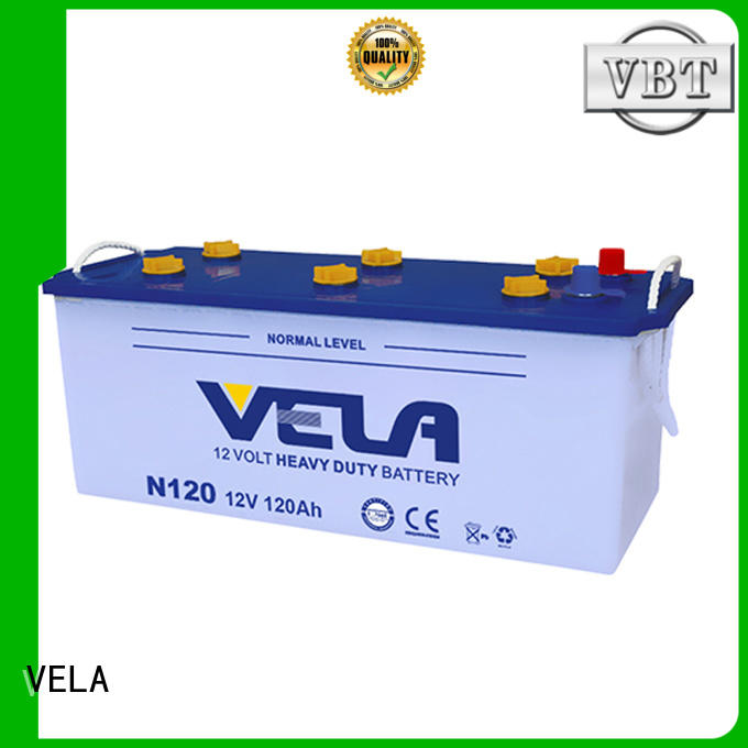 VELA efficient 12v truck battery automobile