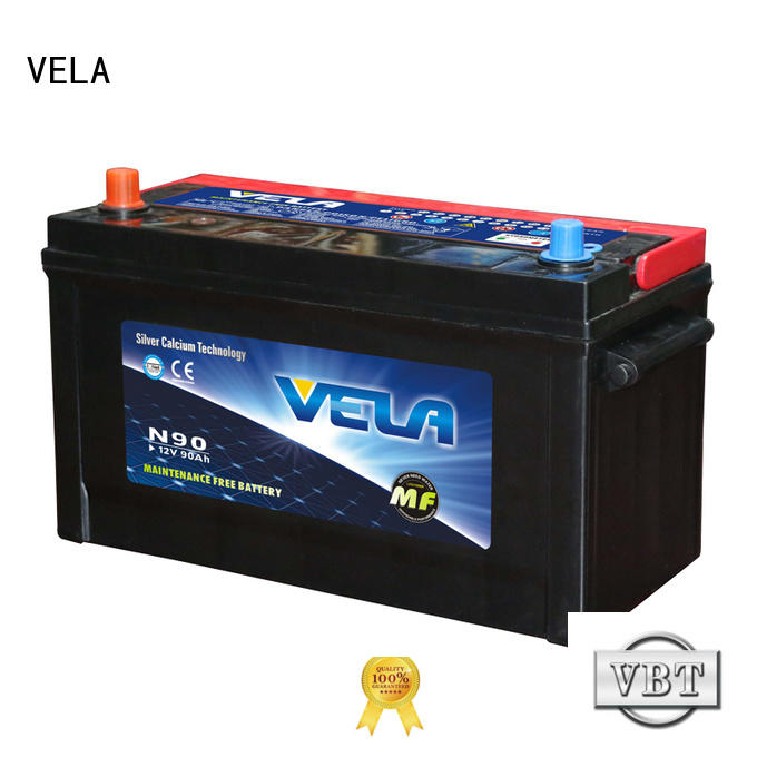 VELA durable best auto battery excellent for car industry