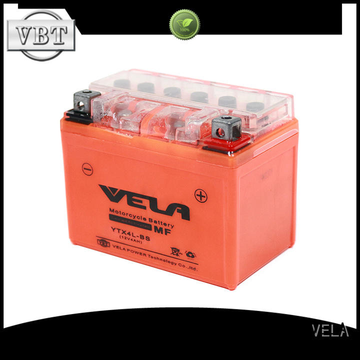 VELA long life time motorcycle battery cost ideal for motorbikes