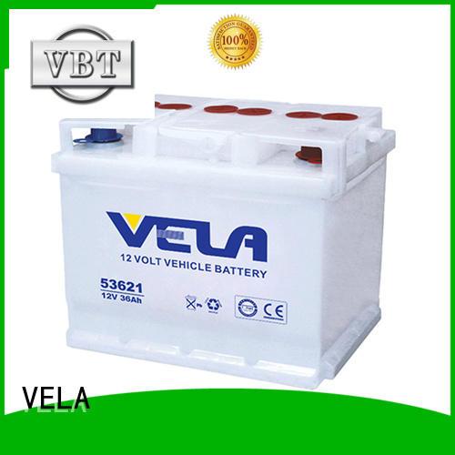 VELA car dry battery optimal for vehicle