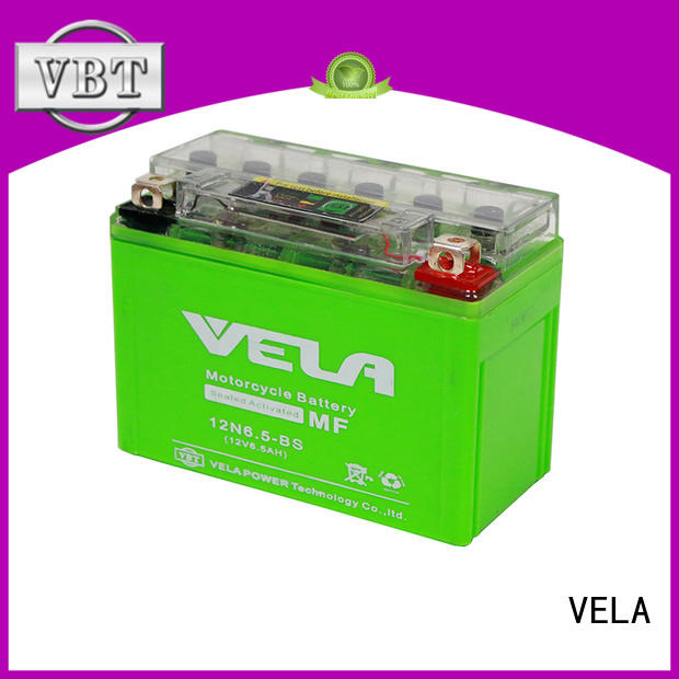 VELA gel cell motorcycle battery perfect for autocycle