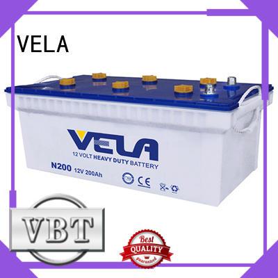 VELA durable heavy duty battery suitable for vehicle