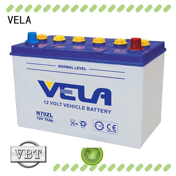 VELA safe car dry battery optimal for car