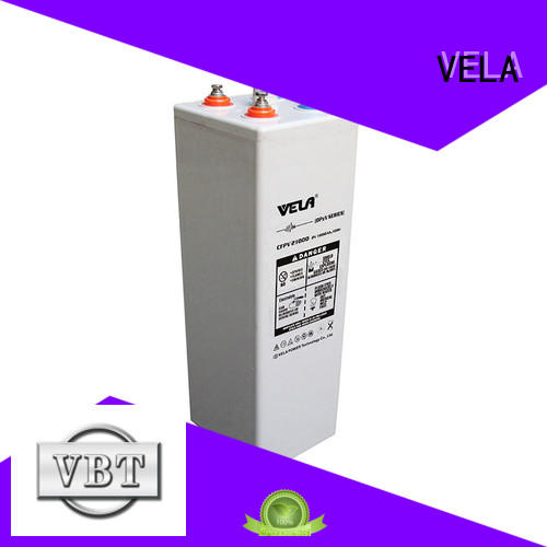 VELA industrial battery manufacturers satisfying for many industries