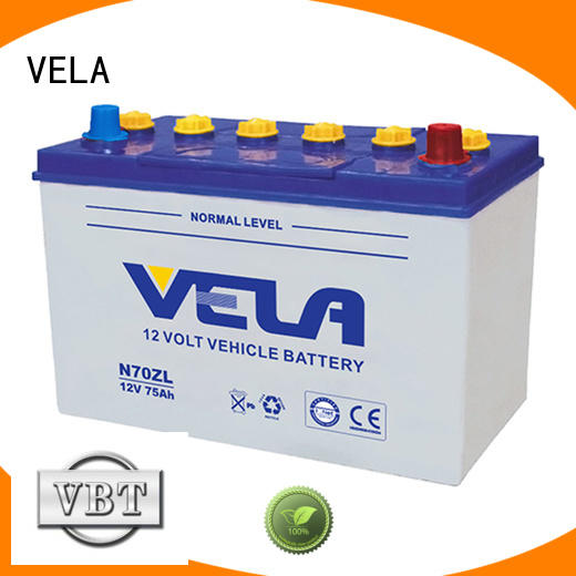 VELA car battery suppliers great for vehicle industry