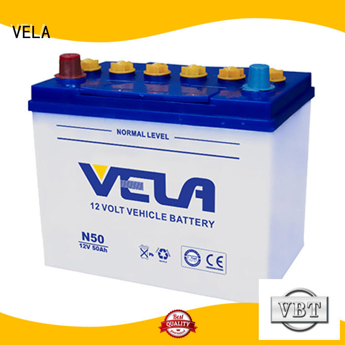 VELA car dry cell battery great for vehicle industry