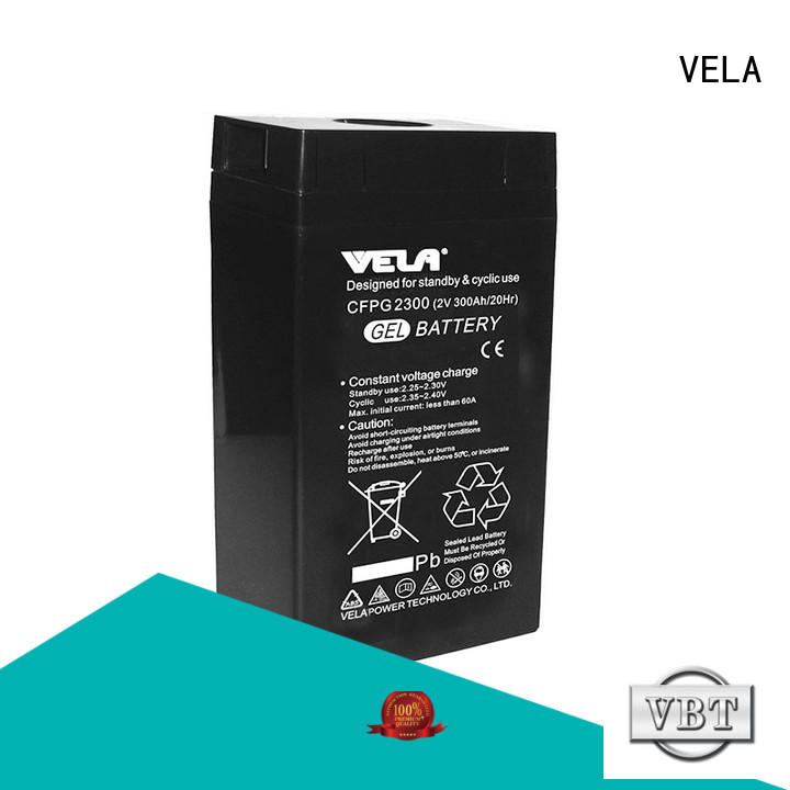 VELA industrial battery manufacturers optimal for multi industries