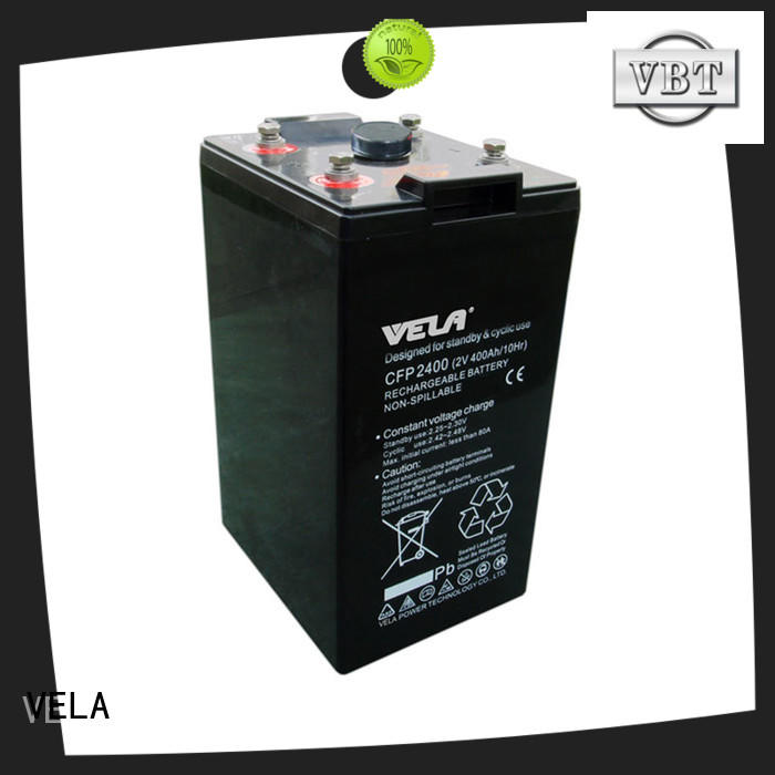 VELA maintenance free battery perfect for solar system