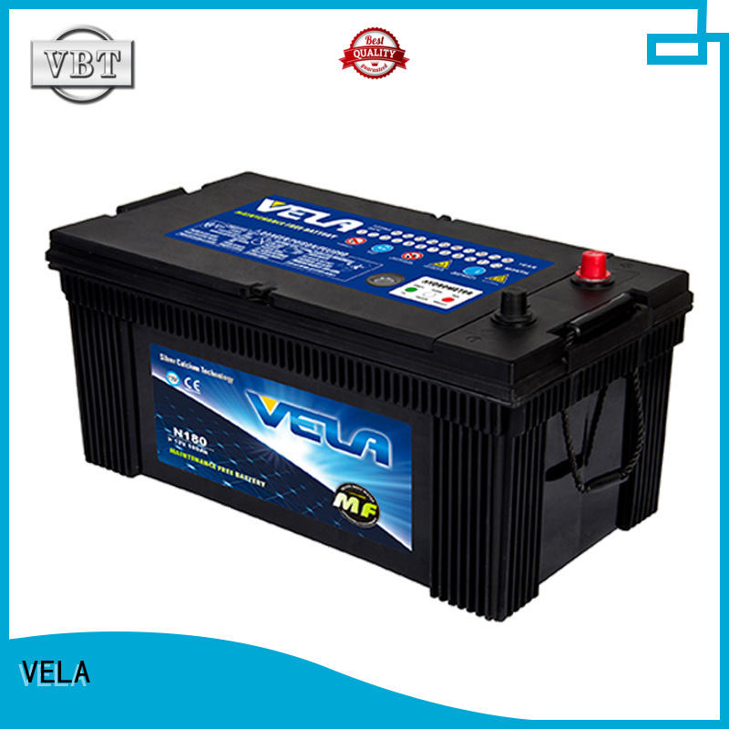 VELA commercial battery popular for car