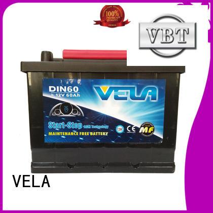 VELA start stop car battery car industry