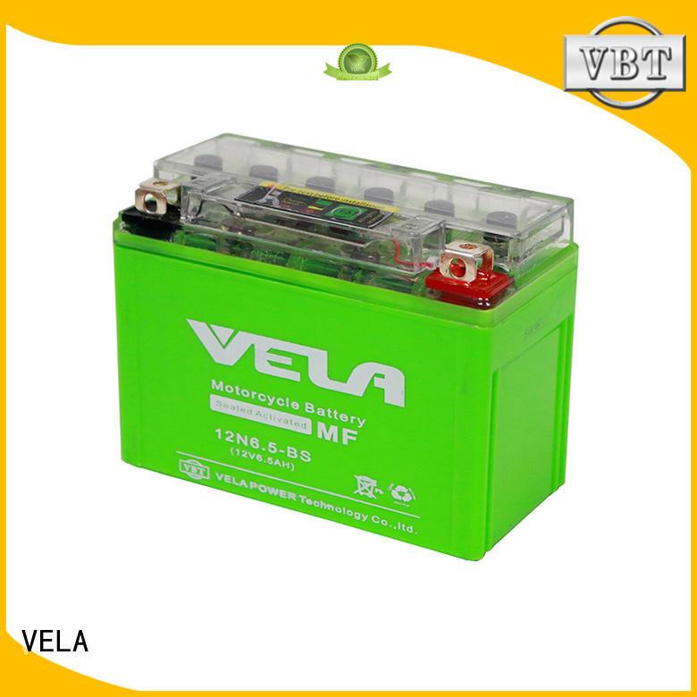 VELA high performance mf motorcycle battery popular for motorbikes