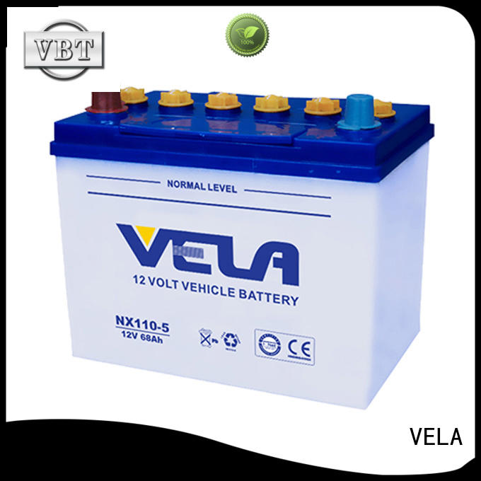 VELA car battery suppliers ideal for vehicle industry
