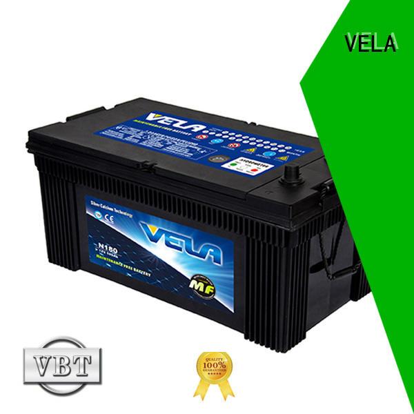 VELA commercial truck batteries popular for truck