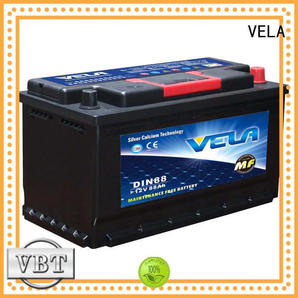 car batteries needed for vehicle VELA