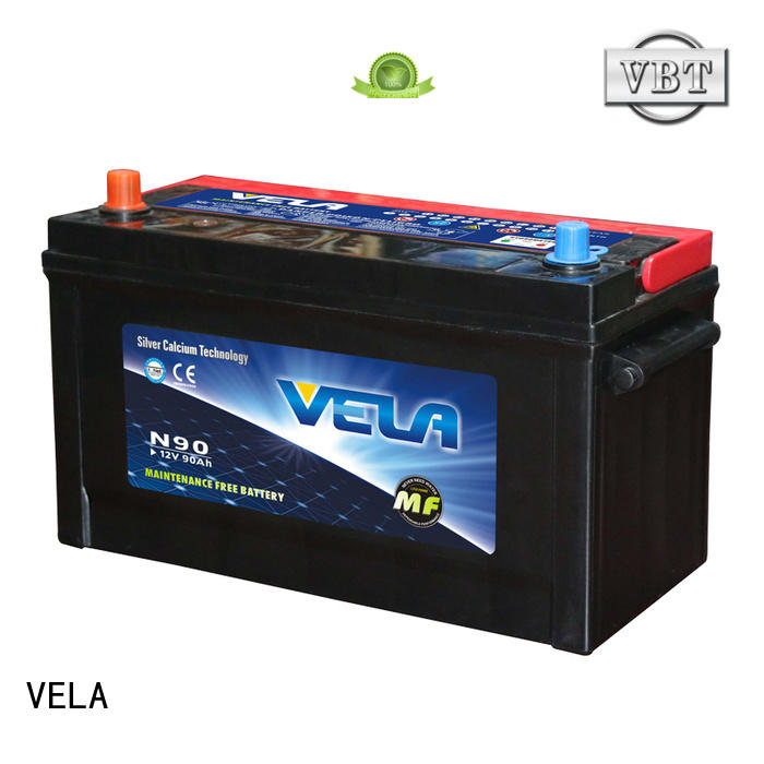 VELA best car battery widely employed for vehicle