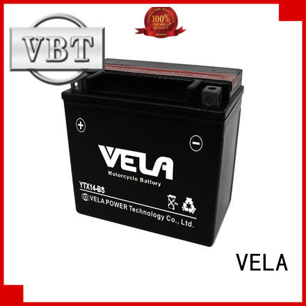 VELA convenient advance auto motorcycle battery great for motorcyles
