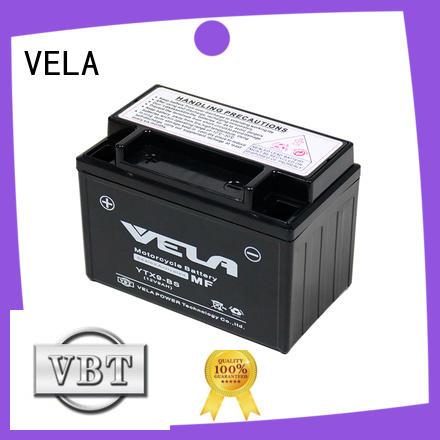 VELA long life time mf battery excellent for motorbikes