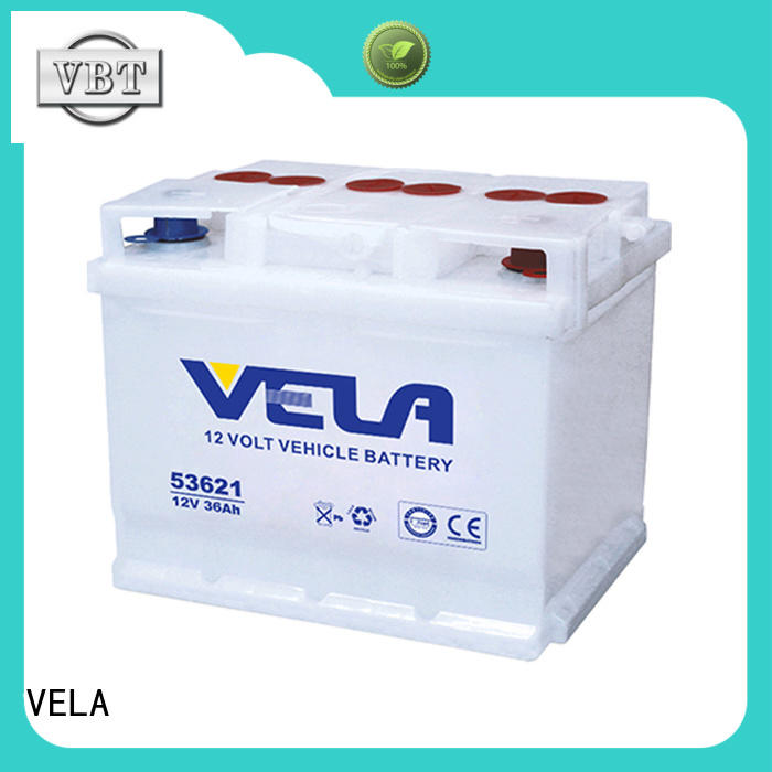 VELA long storage time car dry battery optimal for vehicle industry
