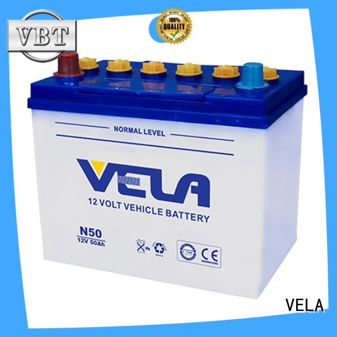 VELA automotive battery manufacturers optimal for vehicle industry