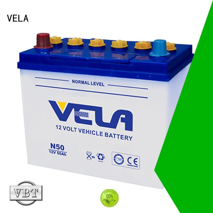 VELA automotive battery manufacturers perfect for automobile