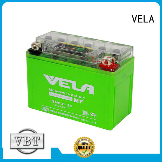 VELA environment friendly auto battery sale popular for motorcycle industry