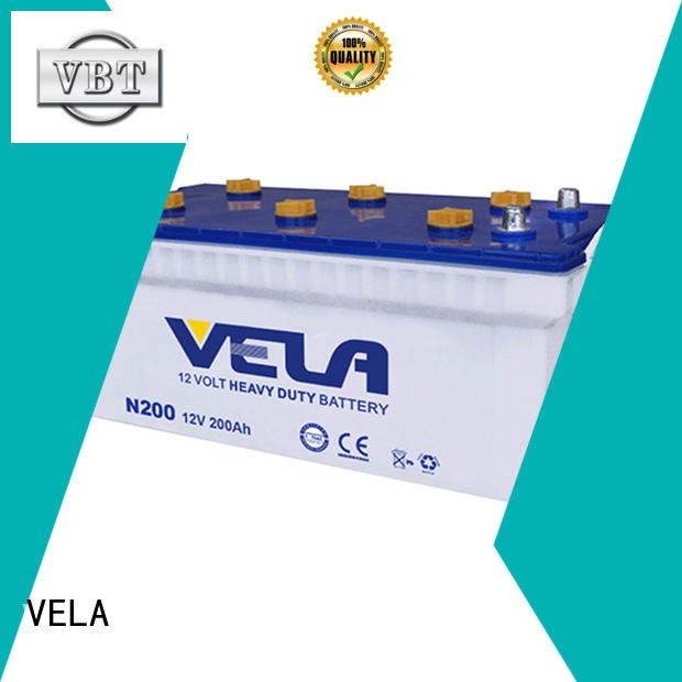 VELA truck batteries heavy duty suitable for truck