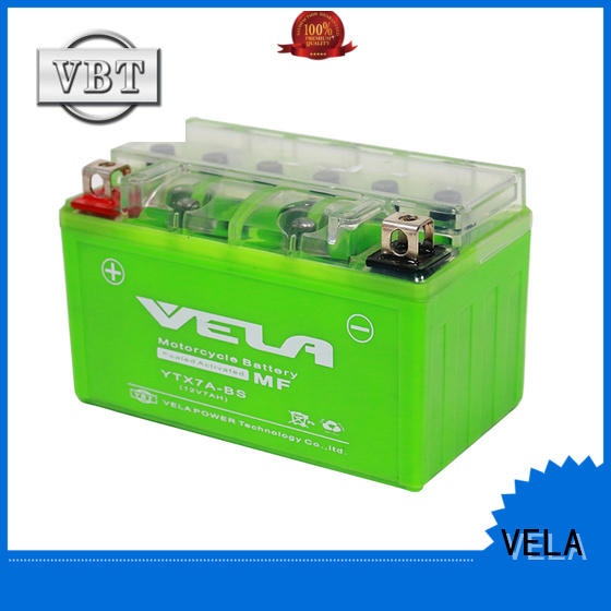 VELA high performance motorcycle race battery suitable for autocycle