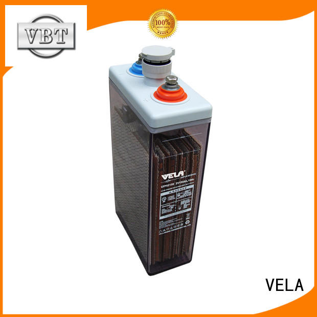 VELA maintenance free battery best for power plant