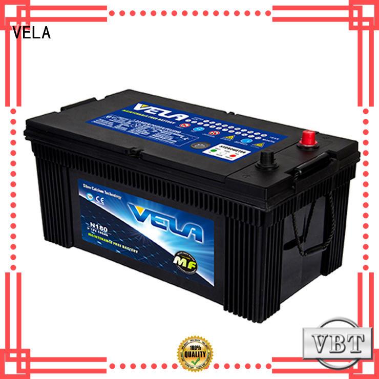 VELA heavy duty batteries vehicle