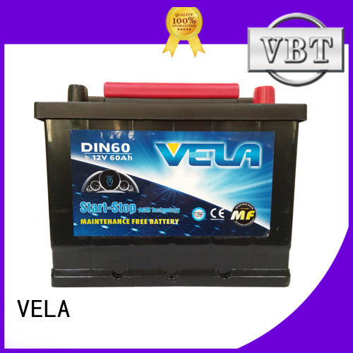 VELA agm start stop battery car industry