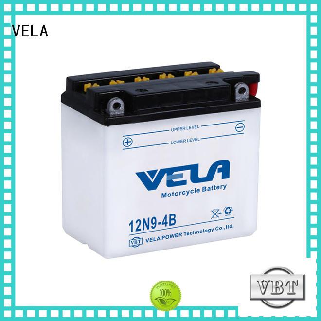 VELA safer transportation lead acid battery motorcycle industry