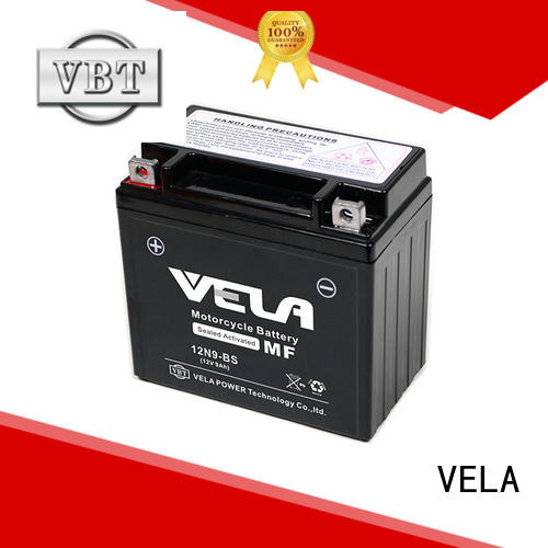 VELA high performance wet battery optimal for autocycle