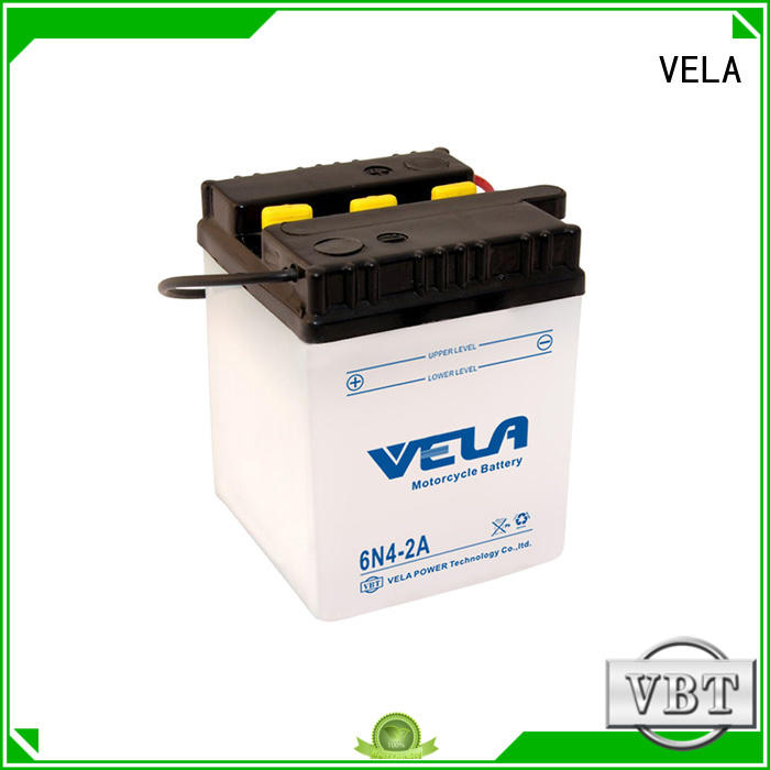 VELA reliable lead acid motorcycle battery needed for motorcyles