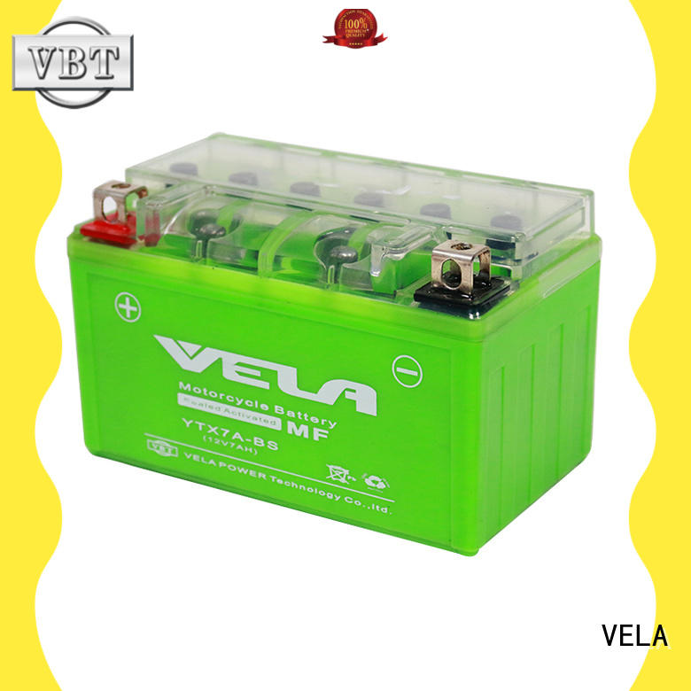 VELA environment friendly gel cell motorcycle battery motorcycle industry