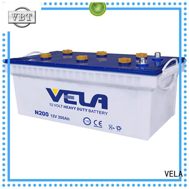 VELA reliable truck batteries heavy duty best choice for truck